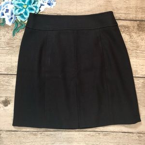 LOFT Career wear Classic Black A line Skirt